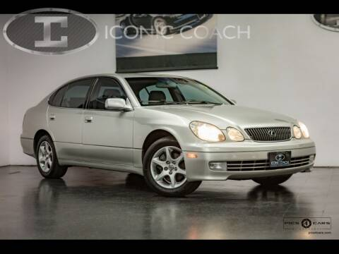 2004 Lexus GS 300 for sale at Iconic Coach in San Diego CA