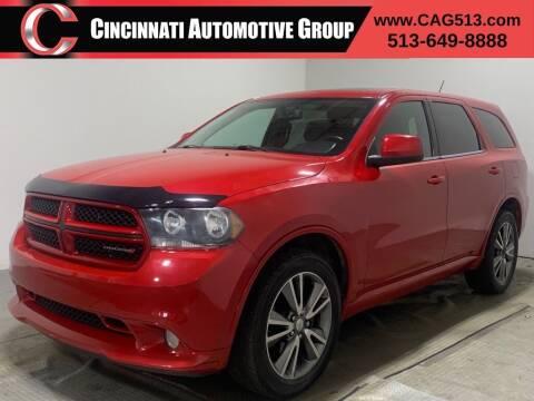 2013 Dodge Durango for sale at Cincinnati Automotive Group in Lebanon OH