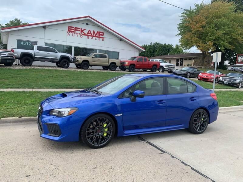 2018 Subaru WRX for sale at Efkamp Auto Sales LLC in Des Moines IA