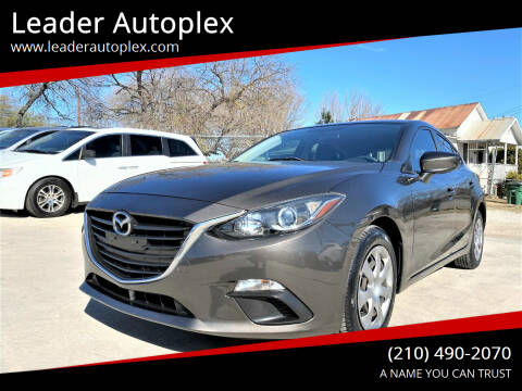 2014 Mazda MAZDA3 for sale at Leader Autoplex in San Antonio TX