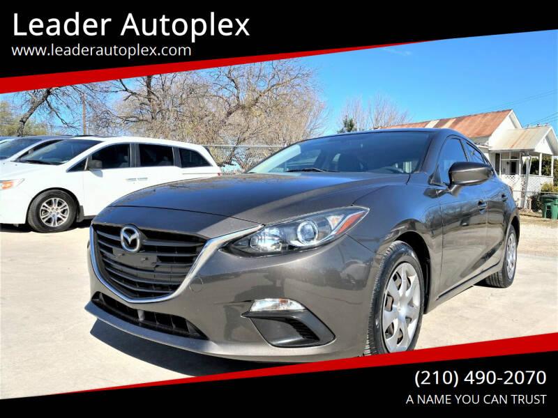 2014 Mazda MAZDA3 for sale at Leader Autoplex in San Antonio TX