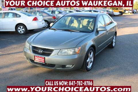 2007 Hyundai Sonata for sale at Your Choice Autos - Waukegan in Waukegan IL