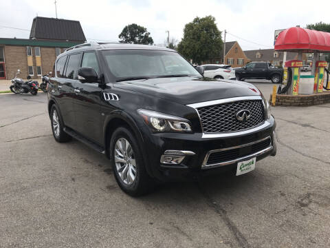 2016 Infiniti QX80 for sale at Carney Auto Sales in Austin MN
