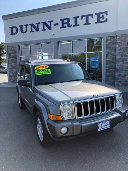 2008 Jeep Commander for sale at Dunn-Rite Auto Group in Kilmarnock VA