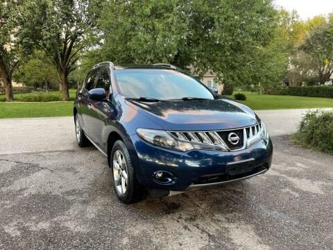 2009 Nissan Murano for sale at CARWIN MOTORS in Katy TX