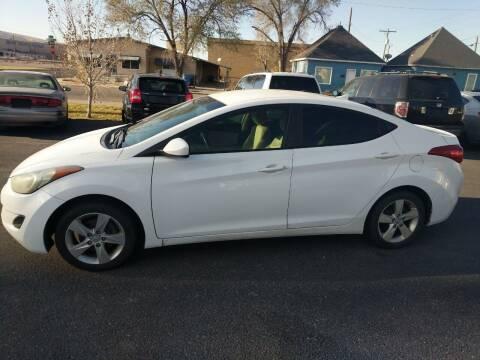 2011 Hyundai Elantra for sale at Creekside Auto Sales in Pocatello ID
