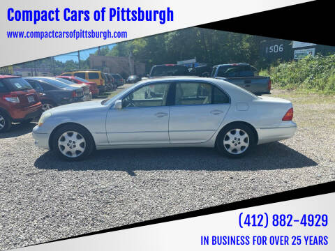 2001 Lexus LS 430 for sale at Compact Cars of Pittsburgh in Pittsburgh PA