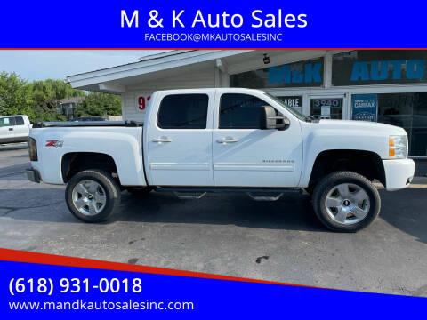 2012 Chevrolet Silverado 1500 for sale at M & K Auto Sales in Granite City IL