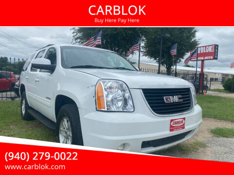 2012 GMC Yukon for sale at CARBLOK in Lewisville TX