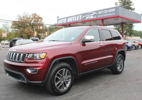 2019 Jeep Grand Cherokee for sale at Deals N Wheels 306 in Burlington NJ