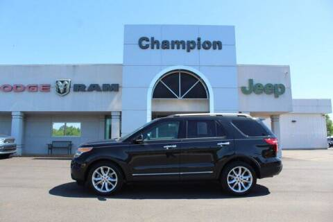 2013 Ford Explorer for sale at Champion Chevrolet in Athens AL