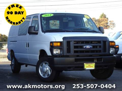 2014 Ford E-Series Cargo for sale at AK Motors in Tacoma WA