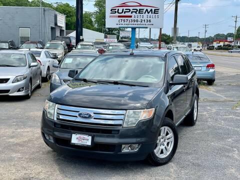 2007 Ford Edge for sale at Supreme Auto Sales in Chesapeake VA