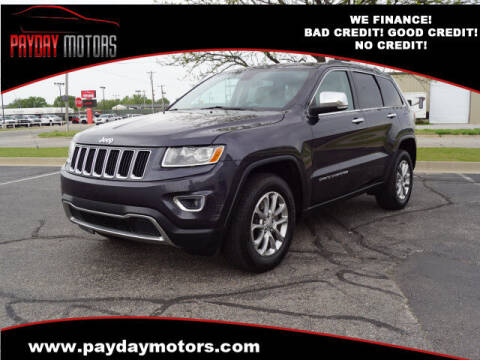 2014 Jeep Grand Cherokee for sale at Payday Motors in Wichita And Topeka KS