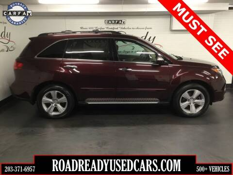 2010 Acura MDX for sale at Road Ready Used Cars in Ansonia CT