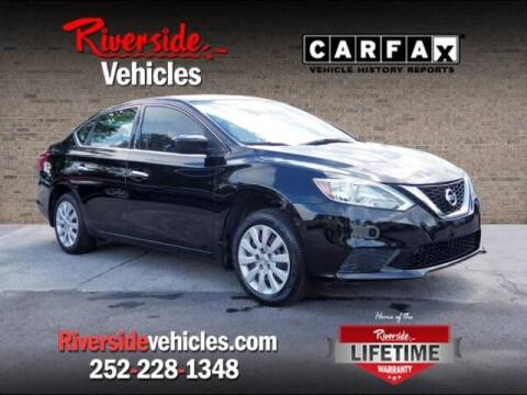 2017 Nissan Sentra for sale at Riverside Mitsubishi(New Bern Auto Mart) in New Bern NC