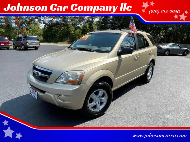 2009 Kia Sorento for sale at Johnson Car Company llc in Crown Point IN