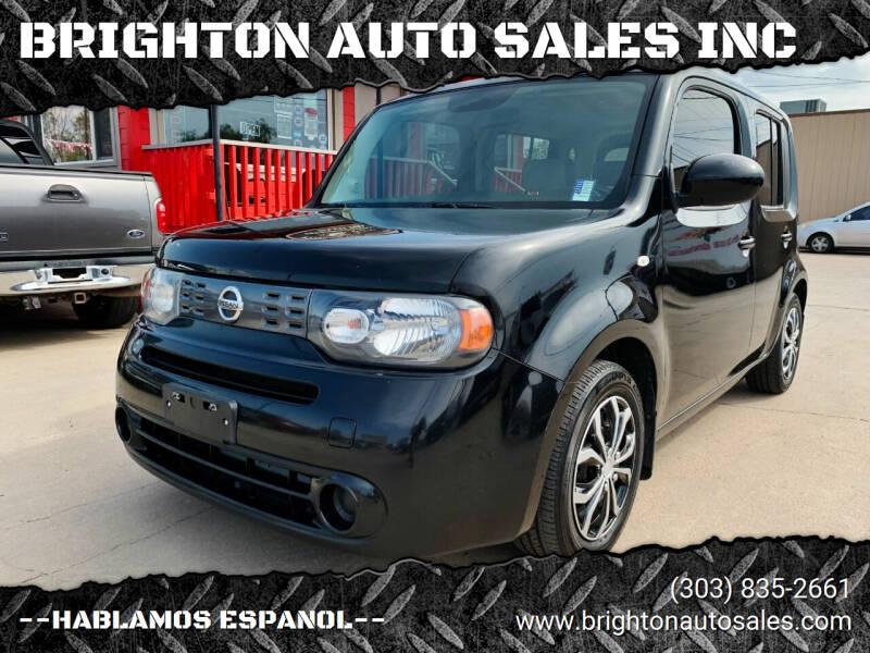 2009 Nissan cube for sale at BRIGHTON AUTO SALES INC in Brighton CO