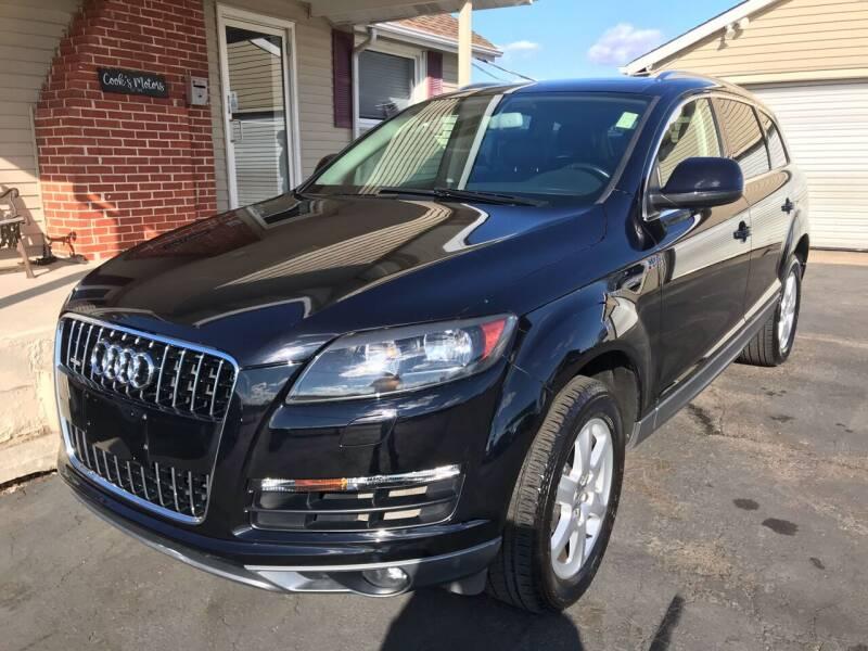 2011 Audi Q7 for sale at Cooks Motors in Westampton NJ