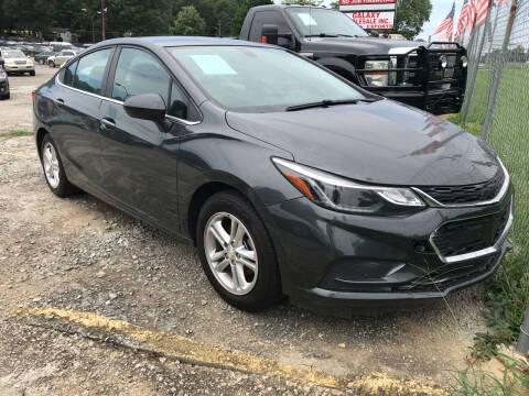 2017 Chevrolet Cruze for sale at Certified Motors LLC in Mableton GA