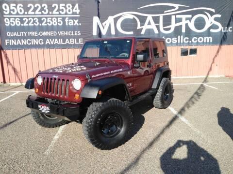 2007 Jeep Wrangler for sale at MC Autos LLC in Pharr TX