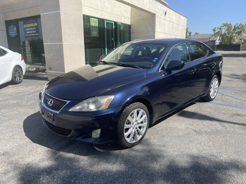 2006 Lexus IS 250 for sale at AutoHaus in Colton CA