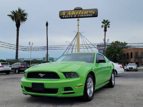 2014 Ford Mustang for sale at A MOTORS SALES AND FINANCE in San Antonio TX