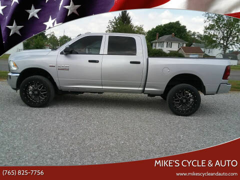 2016 RAM Ram Pickup 2500 for sale at MIKE'S CYCLE & AUTO in Connersville IN
