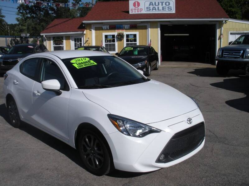 2019 Toyota Yaris for sale at One Stop Auto Sales in North Attleboro MA