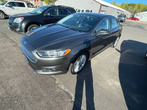 2016 Ford Fusion for sale at Hill Motors in Ortonville MN