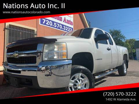 2007 Chevrolet Silverado 2500HD for sale at Nations Auto Inc. II in Denver CO