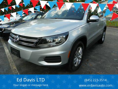 2013 Volkswagen Tiguan for sale at Ed Davis LTD in Poughquag NY