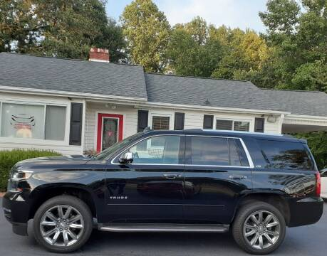 2015 Chevrolet Tahoe for sale at SIGNATURES AUTOMOTIVE GROUP LLC in Spartanburg SC