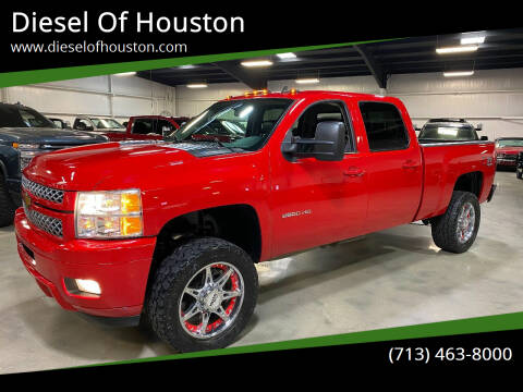 2013 Chevrolet Silverado 2500HD for sale at Diesel Of Houston in Houston TX