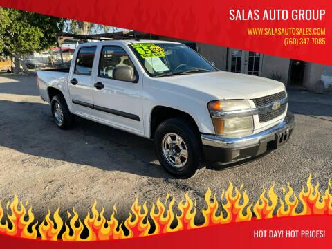 2005 Chevrolet Colorado for sale at Salas Auto Group in Indio CA
