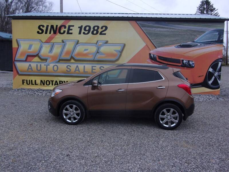 2016 Buick Encore for sale at Pyles Auto Sales in Kittanning PA