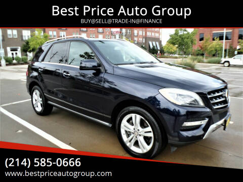 2014 Mercedes-Benz M-Class for sale at Best Price Auto Group in Mckinney TX