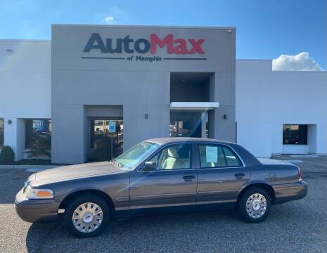 2007 Ford Crown Victoria for sale at AutoMax of Memphis in Memphis TN