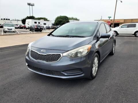 2014 Kia Forte for sale at Image Auto Sales in Dallas TX