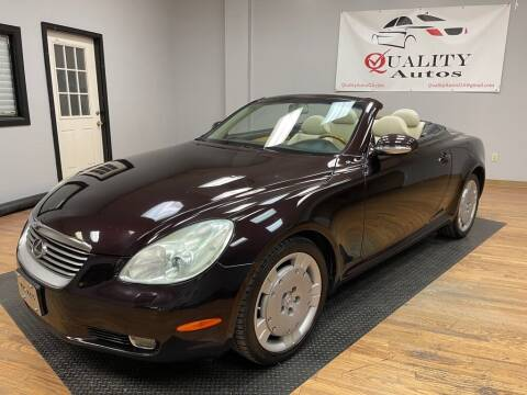 2005 Lexus SC 430 for sale at Quality Autos in Marietta GA