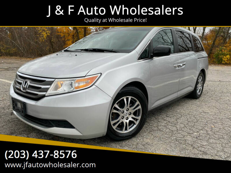 2013 Honda Odyssey for sale at J & F Auto Wholesalers in Waterbury CT