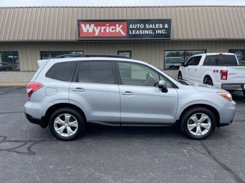 2014 Subaru Forester for sale at Wyrick Auto Sales & Leasing-Holland in Holland MI