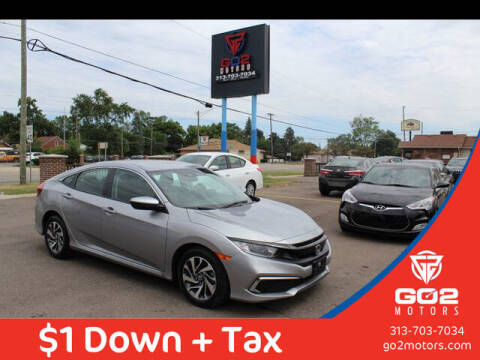 2019 Honda Civic for sale at Go2Motors in Redford MI