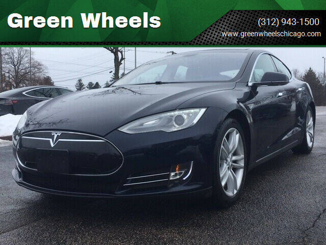 2013 Tesla Model S for sale at Green Wheels in Chicago IL