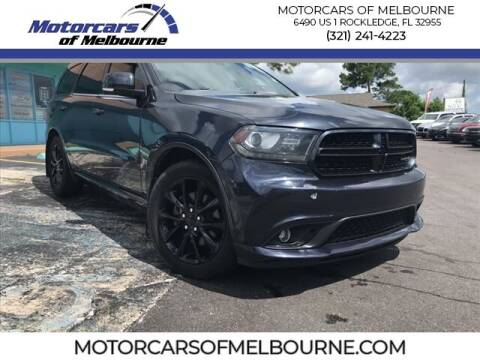2014 Dodge Durango for sale at Motorcars of Melbourne in Rockledge FL