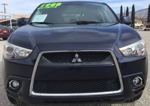 2012 Mitsubishi Outlander Sport for sale at The Auto Shop in Alamogordo NM