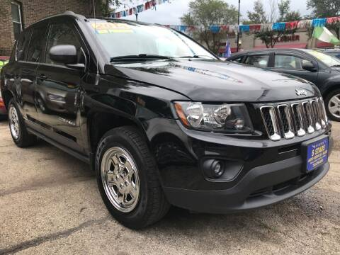2014 Jeep Compass for sale at 5 Stars Auto Service and Sales in Chicago IL