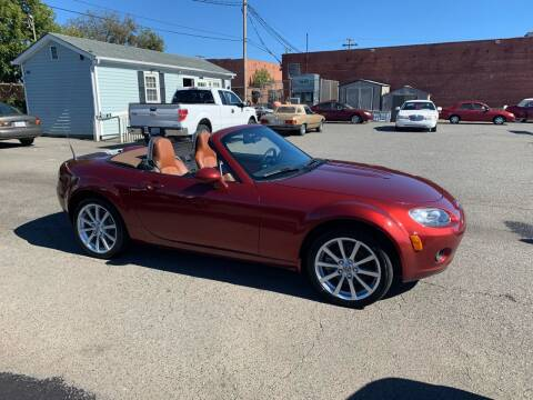 2007 Mazda MX-5 Miata for sale at LINDER'S AUTO SALES in Gastonia NC