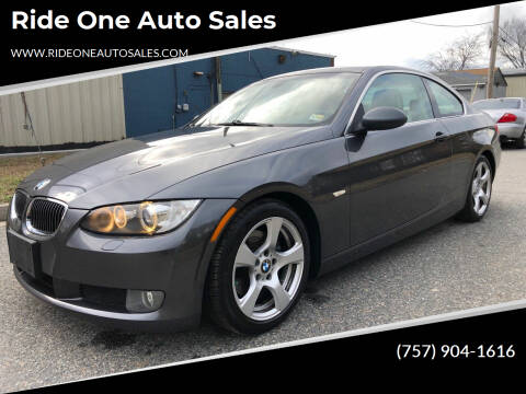 2008 BMW 3 Series for sale at Ride One Auto Sales in Norfolk VA