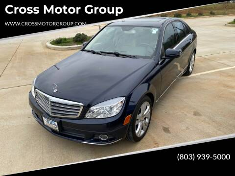 2010 Mercedes-Benz C-Class for sale at Cross Motor Group in Rock Hill SC